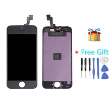 iPartsBuy 3 in 1 for iPhone 5S (LCD + Frame + Touch Pad + Free Gift ) Digitizer Assembly