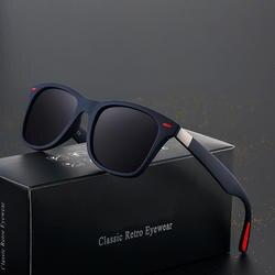 Брендовые дизайнерские классические солнцезащитные очки Для мужчин Для женщин для вождения квадратная рамка солнцезащитные очки мужские