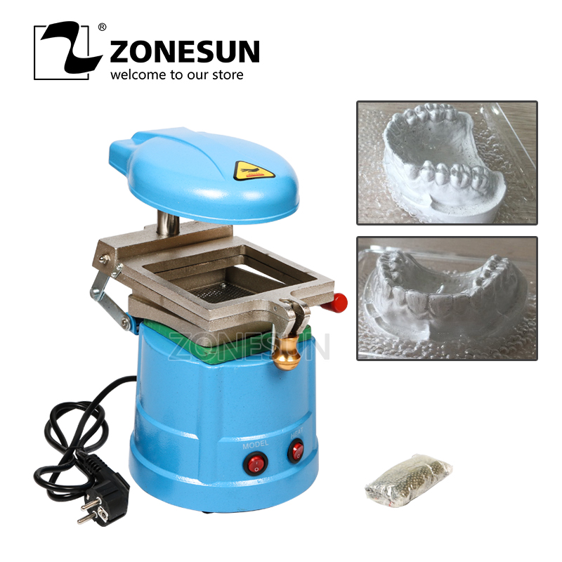 Dental lamination machine dental vacuum forming machine dental equipment with high quality  applicatori di etichette manuali