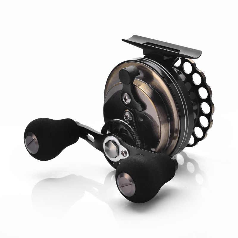 YUYU w całości z metalu Fly Fishing Reel woda morska Ice reel stosunek 3.6: 1 ryby kółko żyłki metalowa szpula łożyska 8 + 1BB tratwa Reel waga 190g