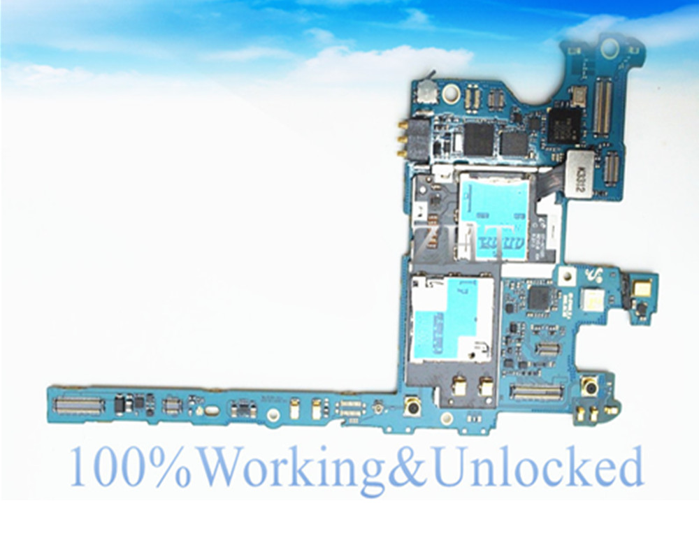 international language European Language Original Motherboard For GALAXY NOTE 2 N7105 LTE Motherboard Chips Logic Clean IMEI