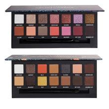 14 Color Pigment Shimmer Matte Eyeshadow Palette Miner Pop Nuda Beauty Eye Shado