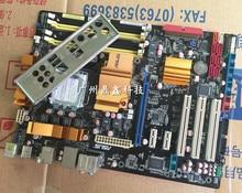 original motherboard for ASUS P5Q LGA 775 DDR2 boards  16GB SATA2 P45 Desktop motherboard Free shipping