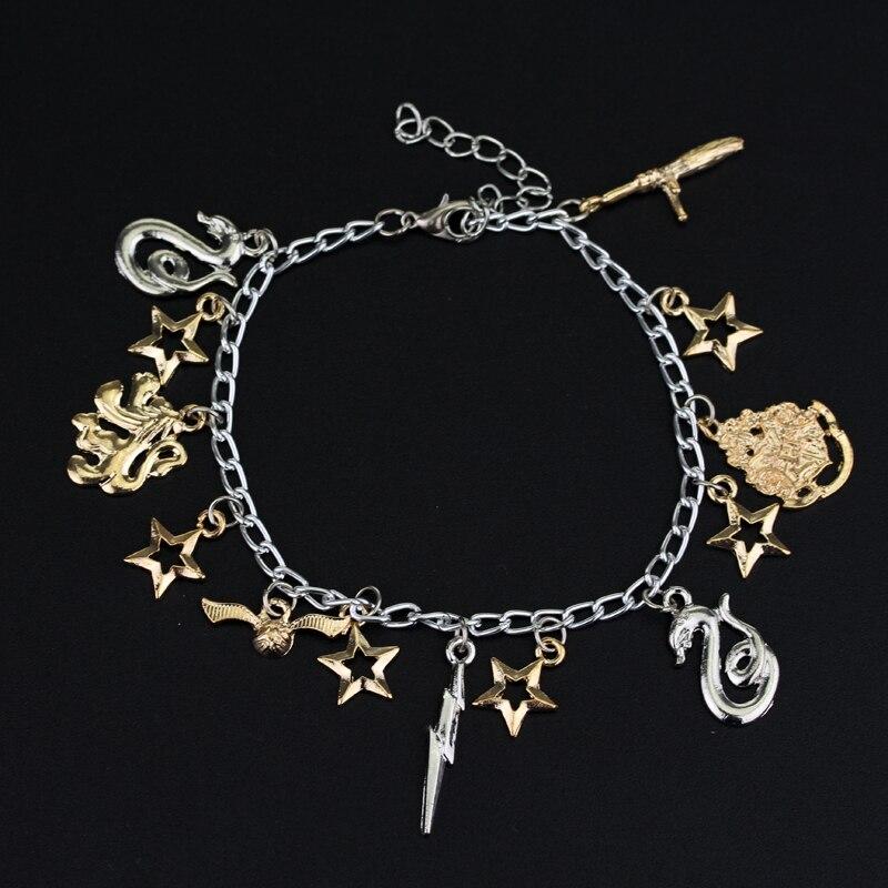 Slytherin Snake Harry Potter Wish Bracelet Friendship
