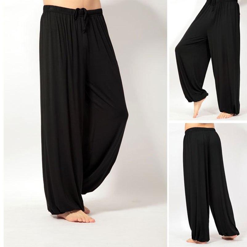 Super lâches pantalon de yoga pantalon hommes hommes de pyjama pantalon Sommeil défaites pantalon Asie M-3XL