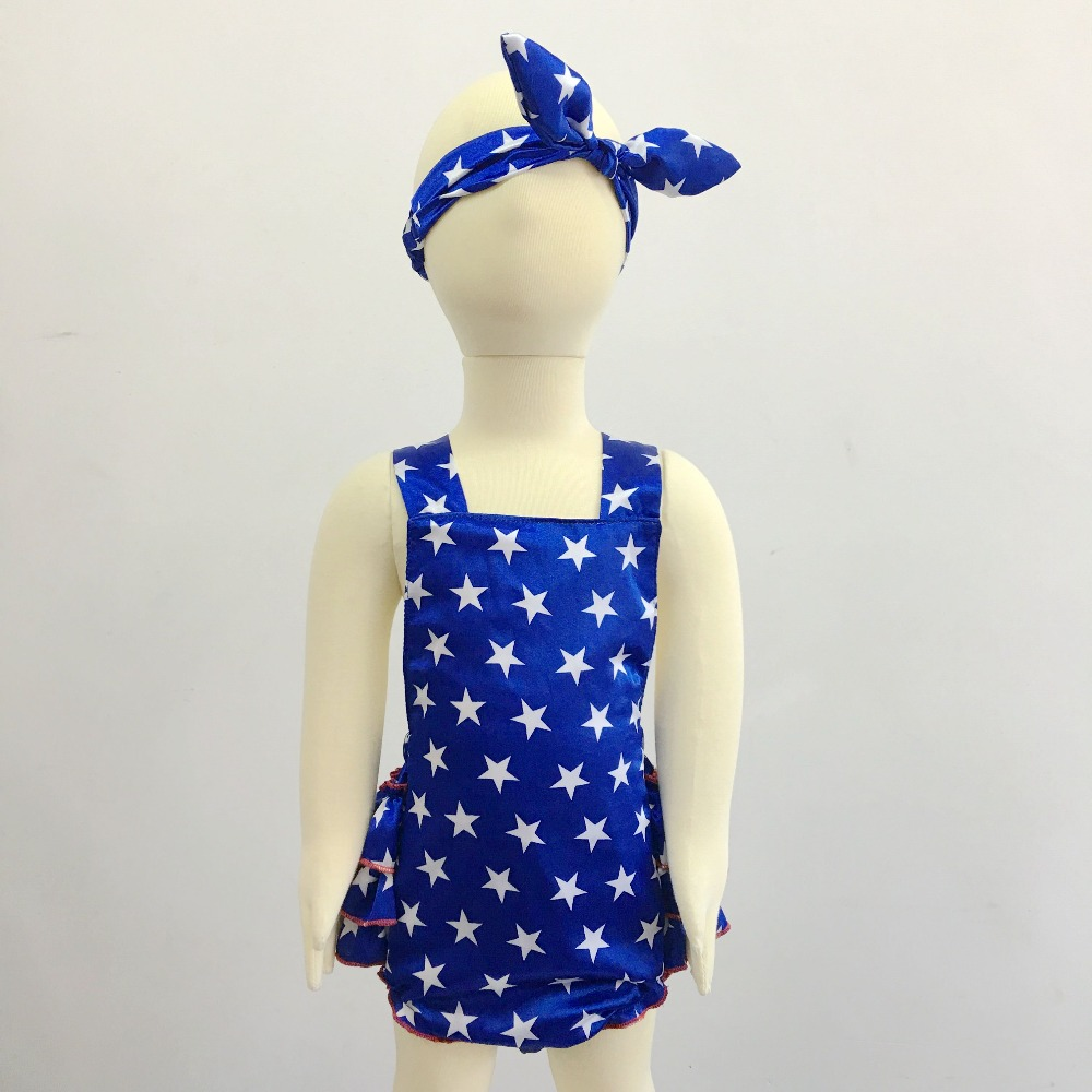 4fe52fc839e7 4th of July Romper baby 4th of july outfit Baby Sunsuit Bubble Romper  Ruffle Bottom Girls 4th of July Flag Outfit-in Rompers from Mother   Kids on  ...