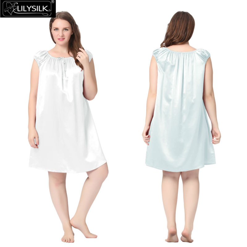 1000-light-sky-blue-22-momme-mid-length-silk-nightgown-with-tied-bust-plus-size-01