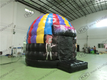 inflatable disco glitter dome bouncer for party