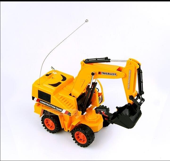 1 шт./лот пульт дистанционного управления мини погрузчик игрушка RC TRUCK