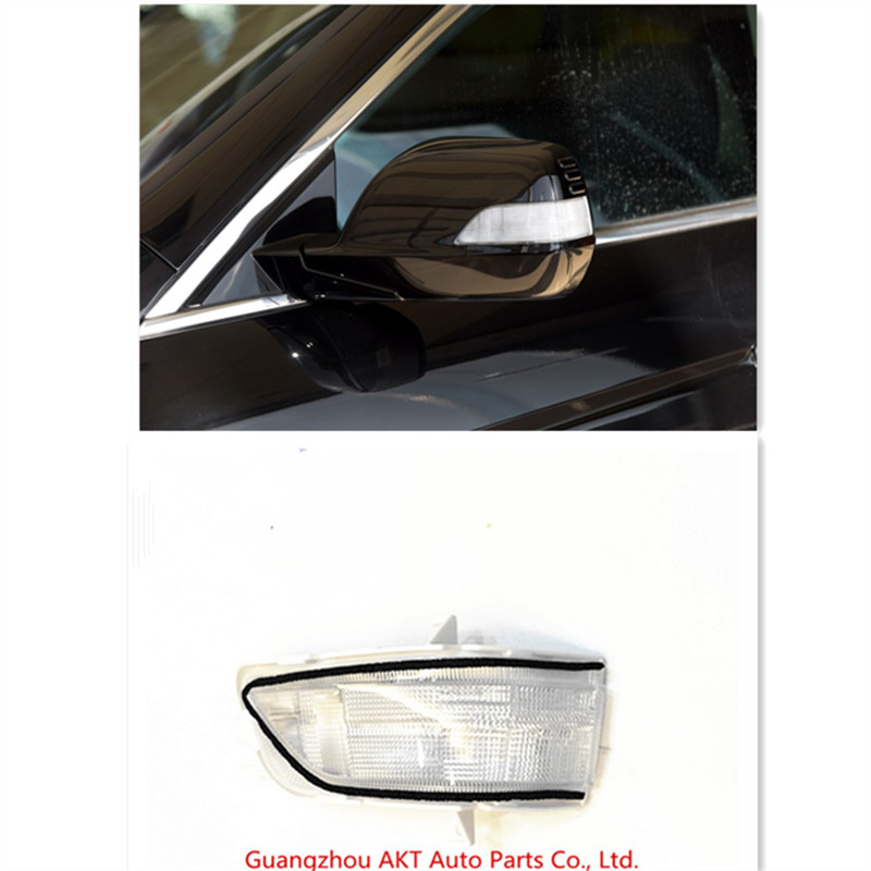 Rearview Mirror Turn Signal Side Mirror LED Lamp For Honda For CRV 2007-2011 Crosstour 2011-2016 OEM:34300-SWA-H01 34350-SWA-H01 blue mirror car side view mirrors glare proof mirror led turn signal lamp heated rearview mirror lens for honda fit 2014 2016