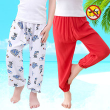 hot deal buy children's clothing 2017 spring new bow pants baby air conditioning pants children's cotton pants baby girl clothes 2 4 6 7 8 10