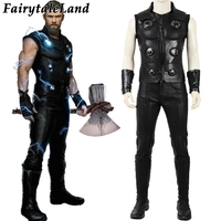Thor Costume Halloween Cosplay Avengers Infinity War Thor Cosplay Costume suit Avengers 3 Costume Custom made
