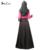 Vestido de los musulmanes Abaya ropa islámica abaya jilbab Turco musulmane vestidos longos hijab ropa dubai kaftan longo Negro