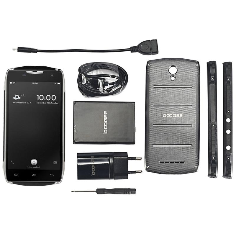 Original DOOGEE T5 Lite Android 6.0 5.0 inch Waterproof 4G LTE Smartphone RAM 2GB ROM 16GB MTK6735 Quad Core with Dual SIM OTG