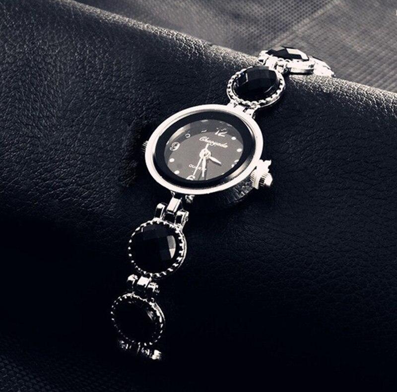 Women Bracelet Watch Fashion Casual Bread Time Quartz Relojes Round Dial Clock Female Wristwatch Relogio Feminino Polshorloge