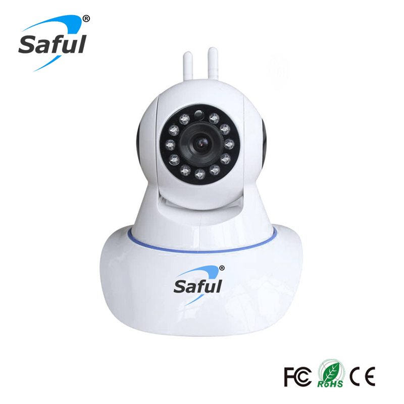Saful Wireless IP Camera WiFi Home Security Onvif Camera Surveillance Baby Monitor Night P2P network IR with P2P network