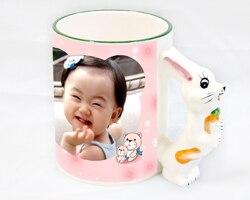 Diy Blank Sublimation cartoon Mugs Cup Customzied Ceramic Colorful Mugs for Heat Press Transfer Printing