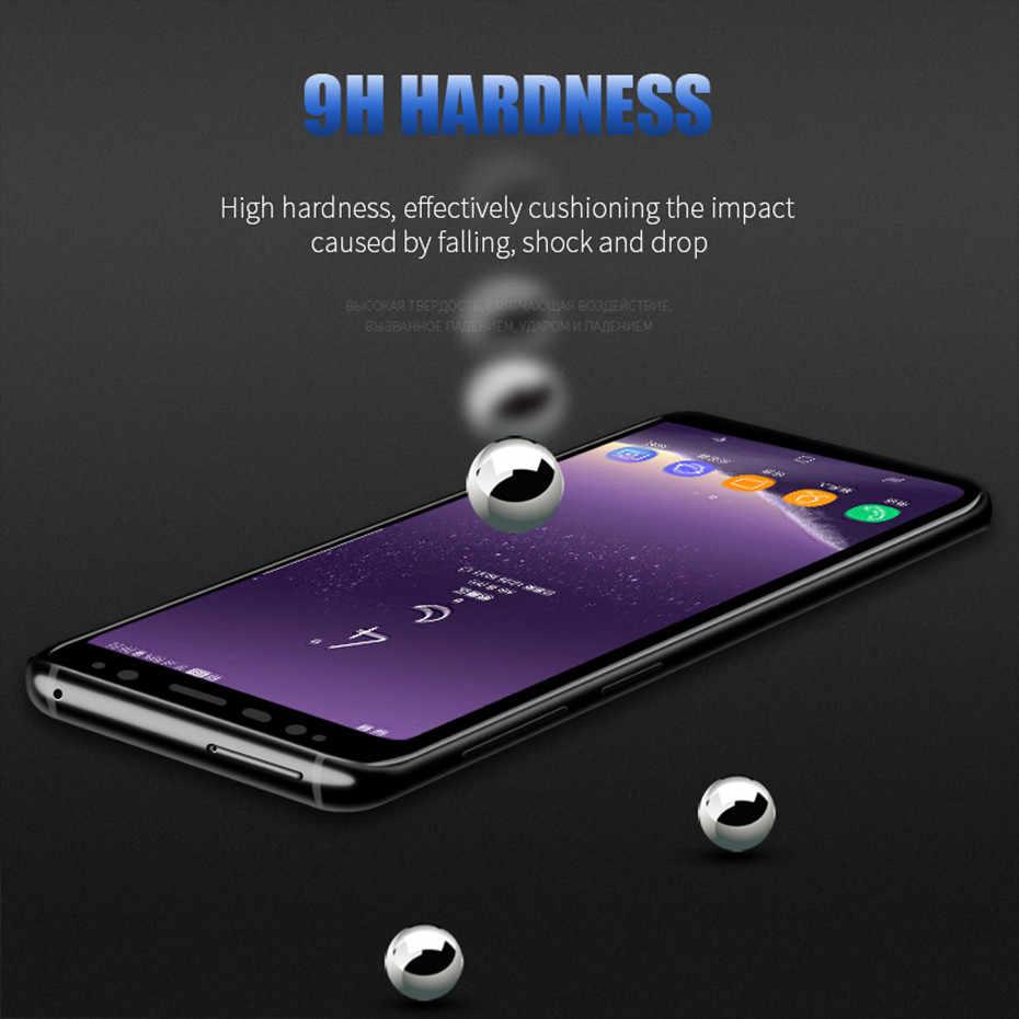 3D volle abdeckung schutz glas für samsung s8 galaxy s8 plus screen protector gehärtetem glas auf samsung s9 s9 plus hinweis 8