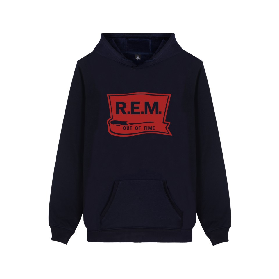 Rack Band R.E.M Sweatshirt Hoodie Music Band C.R.E.A.M. Hoodies Sweatshirt For Couples P ...