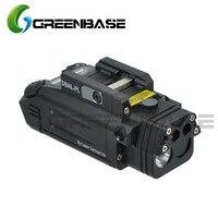 Зеленая база DBAL PL Тактический ИК лазер/ИК свет/Стробоскоп/красный лазер 400 люмен светодиодный фонарик для тактических винтовки Охота оружие