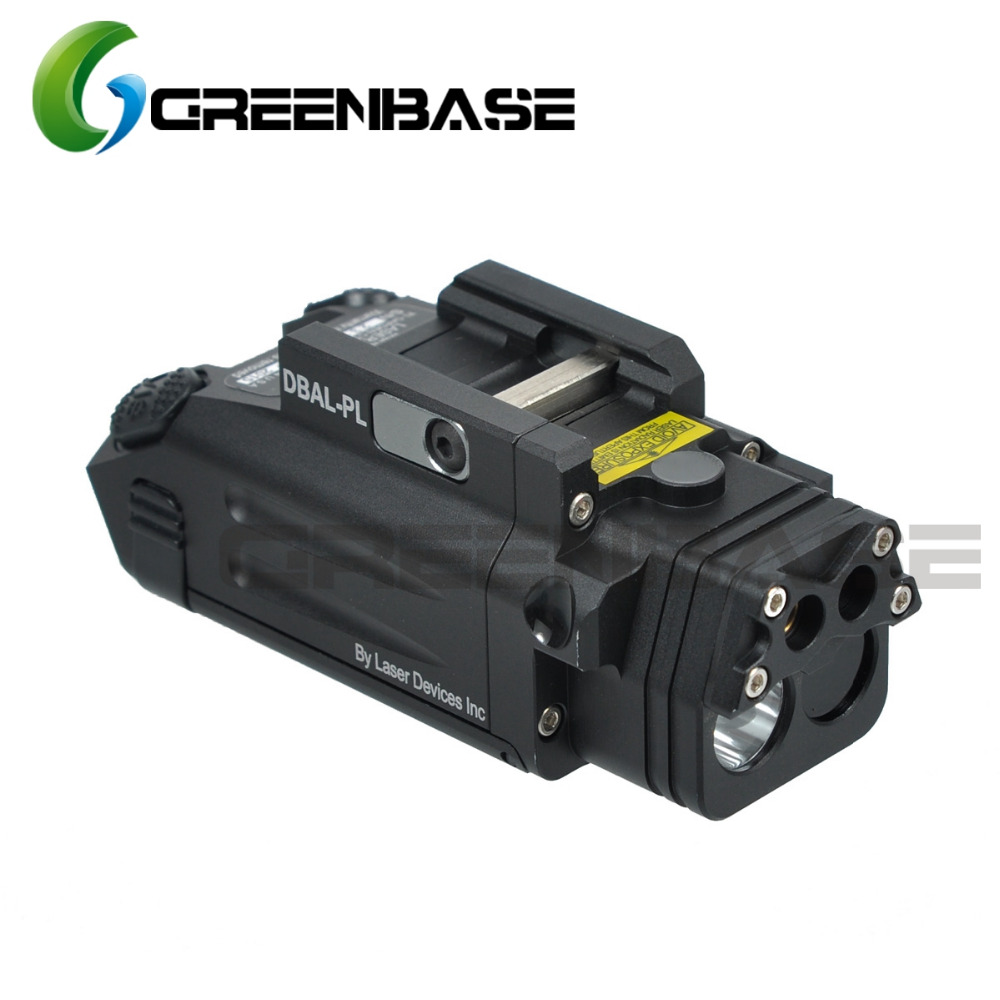 Greenbase DBAL-PL Tactical IR Laser/IR Light/Strobe/Red laser 400 Lumens LED Flashlight For Tactical Rifles Hunting Weaponlight element ex276 peq15 battery case military high precision red dot laser integrated with led flashlight red laser and ir lens