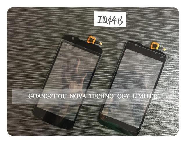 Preto Original Para FLY iq4413 4413 LCD de Toque Digitador Da Tela de Lente de Vidro Digitador Da Tela + 3 M Adesivo + Rastreamento