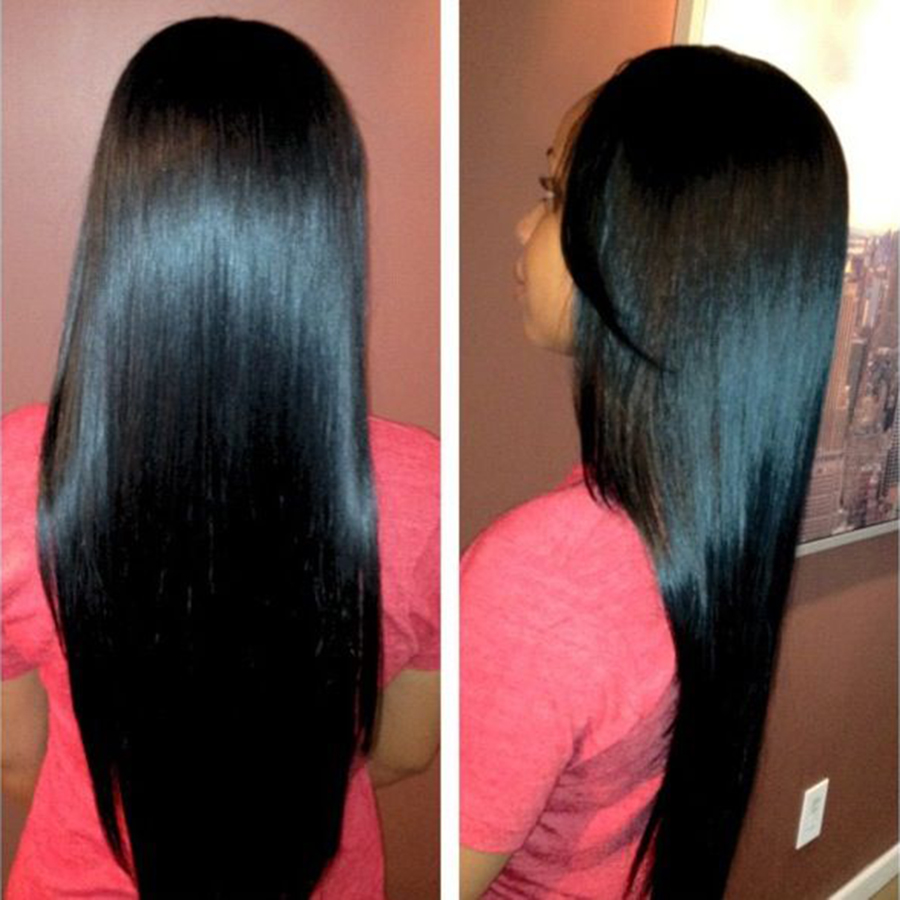 Peruvian Virgin Hair Straight 3 Bundles 7A Virgin Peruvian Straight Hair Bundles Human Hair Weave Peruvian Straight Virgin Hair