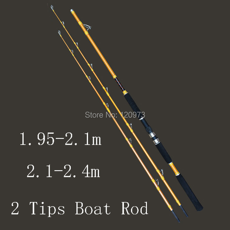 1.95-2.1m  2.1-2.4m 2 Sections Carbon Boat Fishing Rod Jig Rod Jigging Fishing Tackle Ocean Rods Hard Lure Rod carbon fishing rods red boat rod power fish ocean rod fishing jig jigging poles deep sea pole 1 8m 2 1m 2 4m 2 7m free shipping