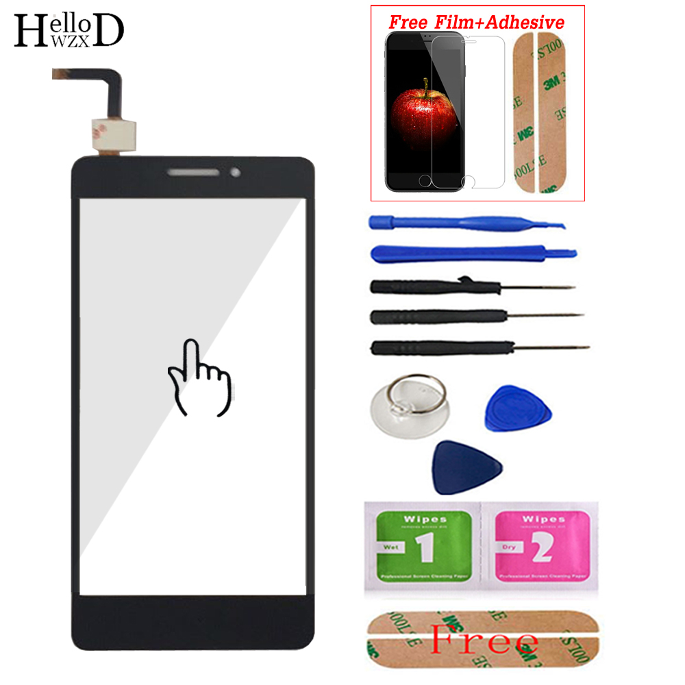 For Lenovo Vibe P1M P1ma40 P1mc50 Touch Screen Glass Digitizer Panel Front Glass Sensor Tools Adhesive + Screen Protector Gift
