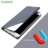 FLOVEME 삼성 Galaxy S7 Edge S7 용 기존 자기 케이스 Note 8 가죽 지갑 플립 커버 Galaxy S7 S8 Plus 용 360 Coque