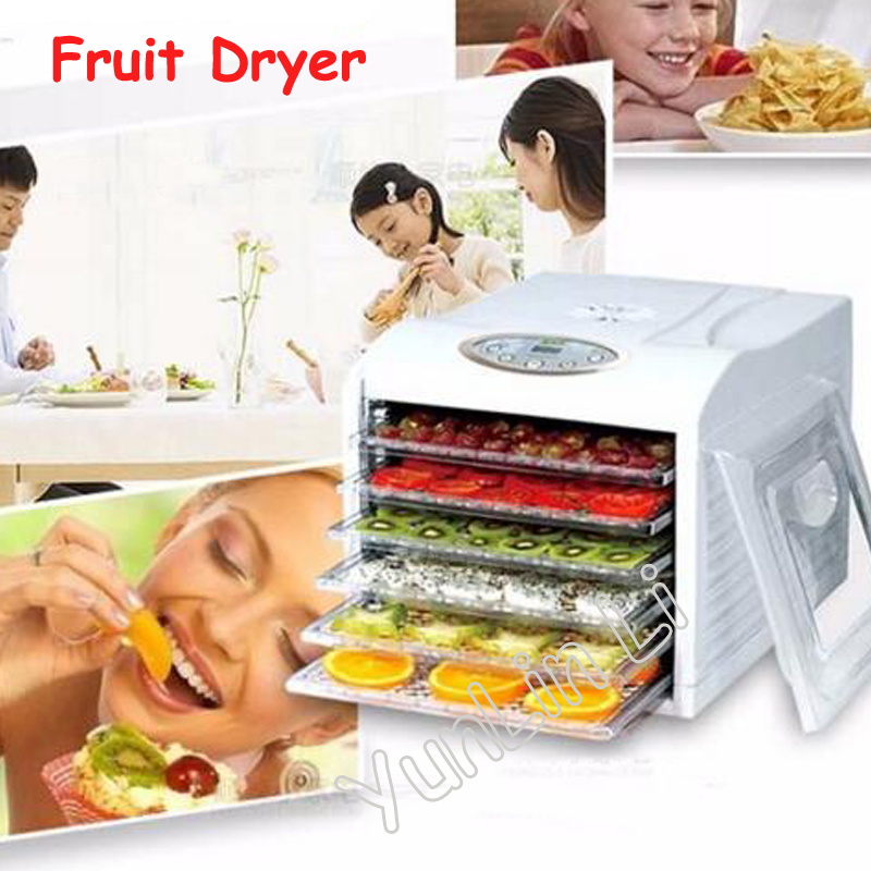 Electric Food Dehydrator with 6 Layers Steel Fruit Vegetable Drying Machine 220V Pet Food Dehydrator FD-980 promotion 6pcs baby bedding set crib sabanas cuna ropa de cuna boy bumper cradle cot linen bumpers sheet pillow cover page 8