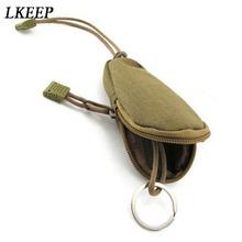 Unisex etui na klucze wodoodporny futerał na klucze etui na brelok do kluczy torby na klucze Zipper przenośne etui na klucze wysokiej jakości 2019 tanie tanio LKEEP CN (pochodzenie) Oxford 12cm key bags Na co dzień Stałe