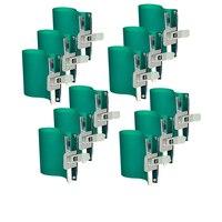 12 pçs/lote 3d máquina de sublimação silicone caneca envolve braçadeiras de borracha 11 oz caneca silicone molde dispositivo elétrico para impressão sublimação 3d