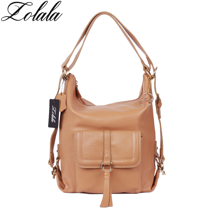 Zolala Brand New Fashion Genuine Leather Large Shoulder Bags For Women Ladies Hobo Handbag Large Capacity Casual bags sac a main