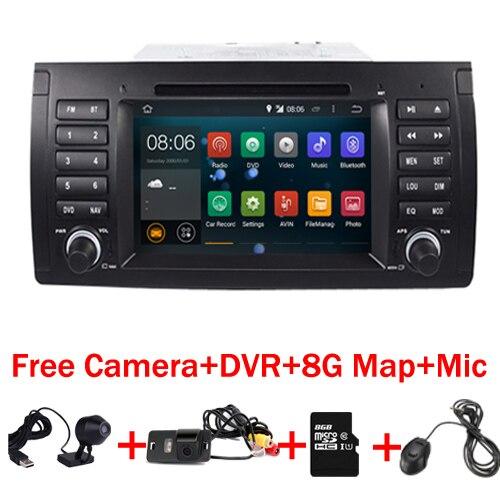 """imágenes para En Stock 7 """"Pantalla táctil de Coches Reproductor de DVD para BMW E39 Android Navegación 7.1 E53 X5 con Wifi 3G Bluetooth Radio de Canbus 16 GB"""
