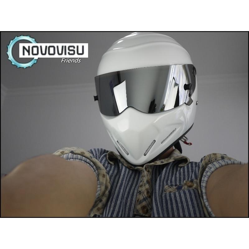 NOVOVISU TG Grand Tour The Stig Kask Motosiklet Motorbike Kartinq - Motosiklet aksesuarları və ehtiyat hissələri - Fotoqrafiya 5