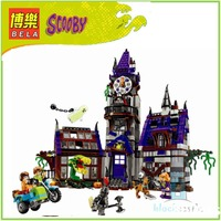 BELA 10432 Compatible Scooby Doo Figures Mystery Mansion 75904 Building Bricks Educational Toys For Children