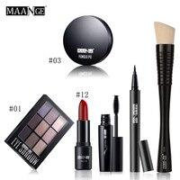 Hot Selling High Quality Fashion Blusher Lip Gloss Shimmer Eyeshadow Palette Professional Premiuim Makeup Kit Brush