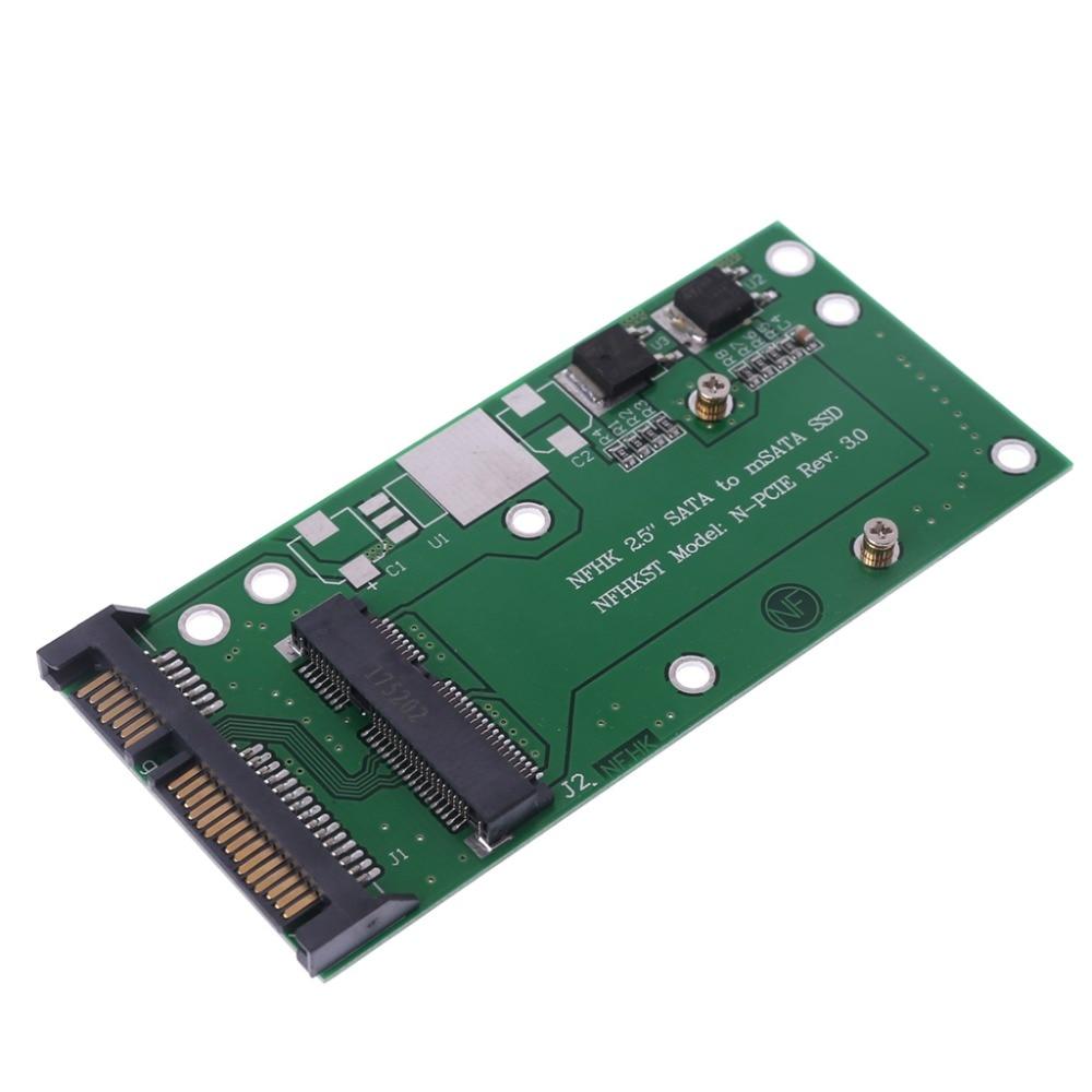 Converter Adapter Durable 50mm Small Board MSATA SSD To 2.5