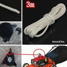 1x 300 سنتيمتر * 4 مللي متر النايلون سحب كاتب نكص بدء الحبل حبل ل تهذيب الحشائش بالمنشار حبل استبدال الوافدين الجدد