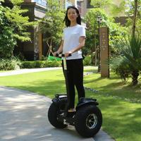 2018 Newest Large double wheel balancing vehicle Thinking car Intelligent somatosensory vehicle 1000W motor cross country model