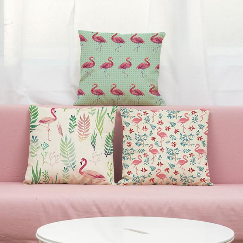 2017 new hot european style creative flamingo cushion for Cheap european pillows