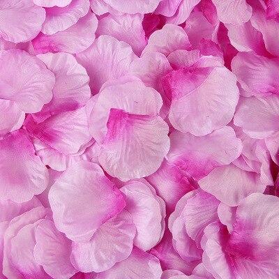 2000pcs/lot Wedding Party Accessories Artificial Flower Rose Petal Fake Petals Marriage Decoration For Valentine supplies 29