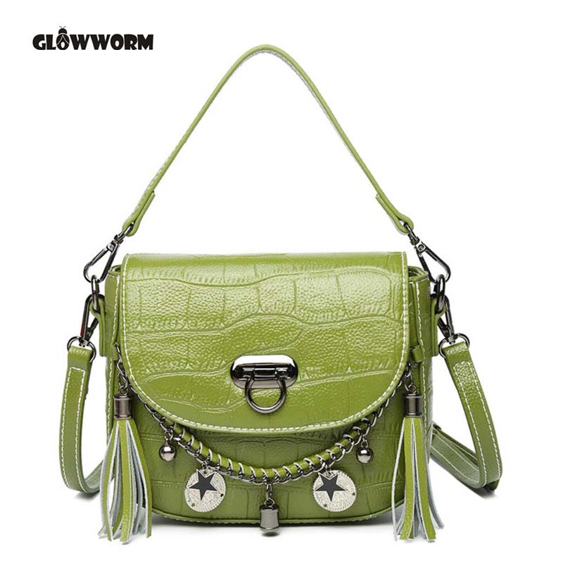 Women Bag 100% Genuine Leather Bag Female Famous Brands Luxury Handbags Women Bags Designer Shoulder Crossbody Messenger Bags qiaobao 100% genuine leather women s messenger bags first layer of cowhide crossbody bags female designer shoulder tote bag