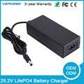 29.2 v 1a 1.5a 2a 2.5a smart lifepo4 carregador de bateria para 8 s 24 v life po4 bateria ferramenta elétrica