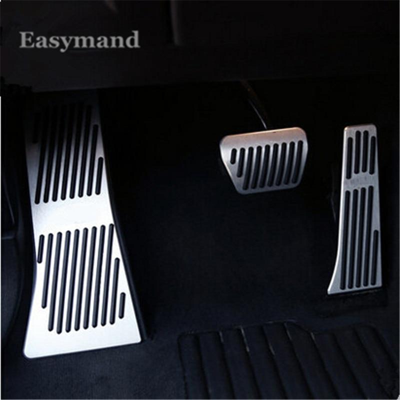 Car styling Aluminium Alloy FootRest Gas Brake Pedal AT For BMW X5 X6 E70 E71 E72