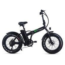 48v 15ah Lithium Battery 20 Fat Tyre Electric Bike 500w Foldable Disc Brake Ebike