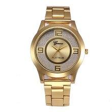 2016 Luxury Brand Женщины Кристалл Нержавеющей Стали Кварцевые Аналоговые Часы Повседневная Наручные Часы Женский Montre Femme Relojes Mujer #77