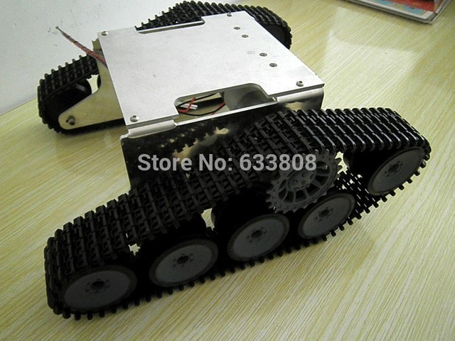 Tank Car Chis Crawler Intelligent Diy Robot Electronictank Atmega Avr Caterpillar Wall E Rc Crawl
