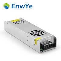 EnwYe transformadores de iluminación DC12V conductor de luces LED de alta calidad para fuente de alimentación de tira LED 60W 120W 210W 360W AC110V-220V de entrada